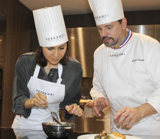 Cours de cuisine Ferrandi