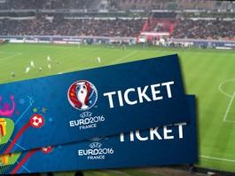 Ticket EURO UEFA 2016
