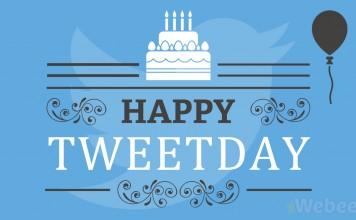 Anniversaire Twitter Happy birthday