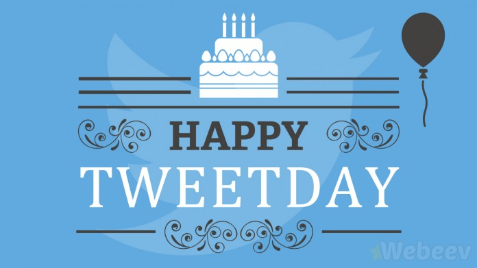 Anniversaire Twitter Happy birthday