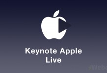 Keynote Apple live