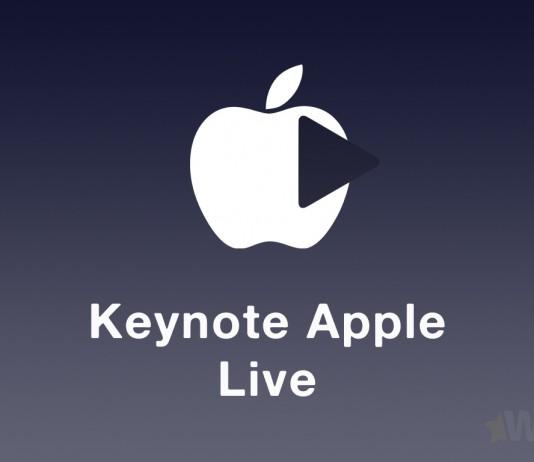 Keynote Apple live