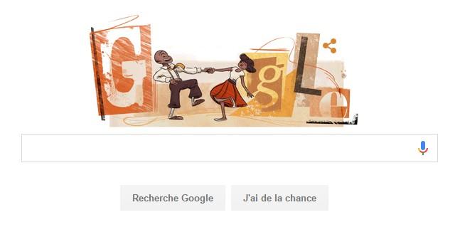 Frankie Manning - Doodle Google
