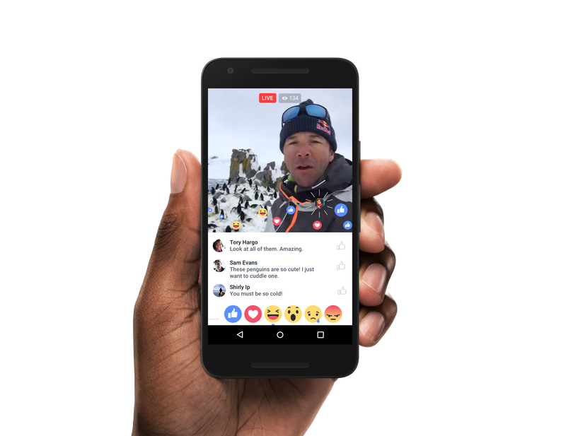 Facebook Live Map app Android