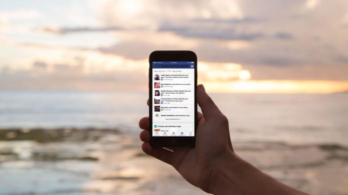 Vacances mobile Facebook