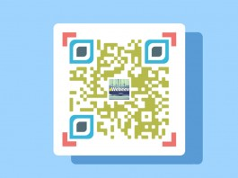 Code QR gratuit design exemple