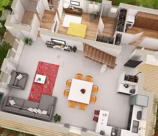 top 7 des sites pour crer un plan maison 3d gratuit en ligne - Faire Un Plan De Maison En Ligne