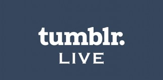 Logo Tumblr live streaming