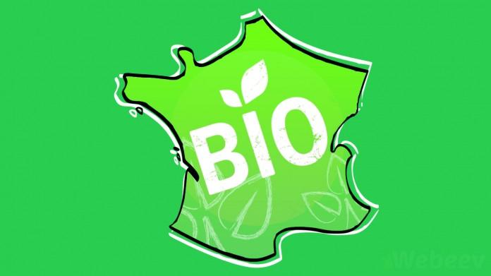 Carte de France des produits Bio