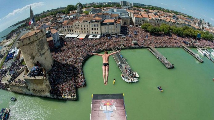 Red Bull Cliff Diving La Rochelle