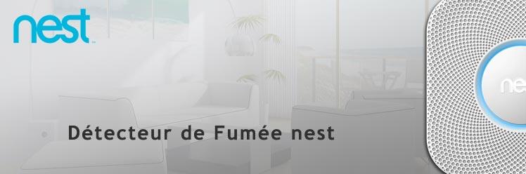 Détecteur de fumée Nest