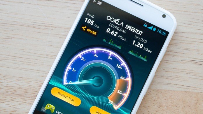 Speed test mobile