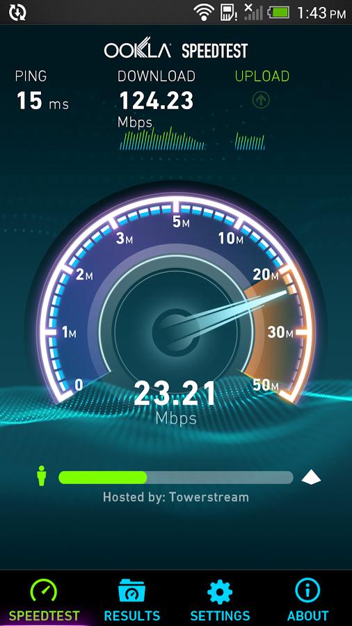 Speed test mobile gratuit