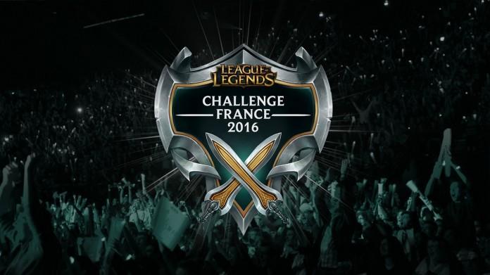 Challenge France 2016 LOL esport live