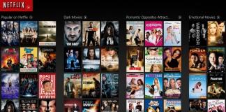 Catalogue Netflix France
