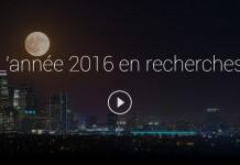 Top ds recherches Google en 2016