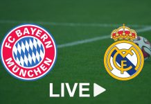 Bayern Munich - Real Madrid live streaming