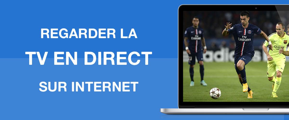 TV direct sur internet