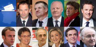 Candidats élection présidentielle 2017 débat BFM TV