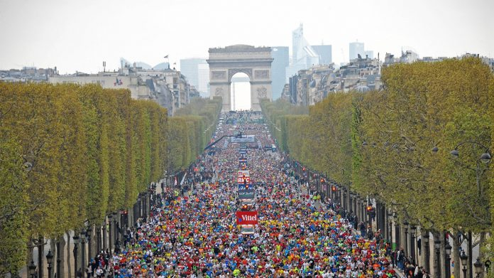 Marathon de Paris 2017 en direct