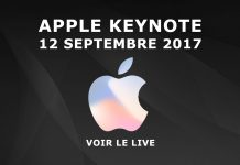 Apple Keynote septembre 2017 live phone 8