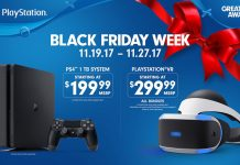 Black Friday Playstation PS4 PS VR 2017
