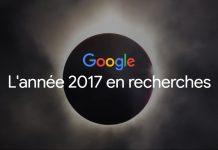 Top des recherches Google 2017