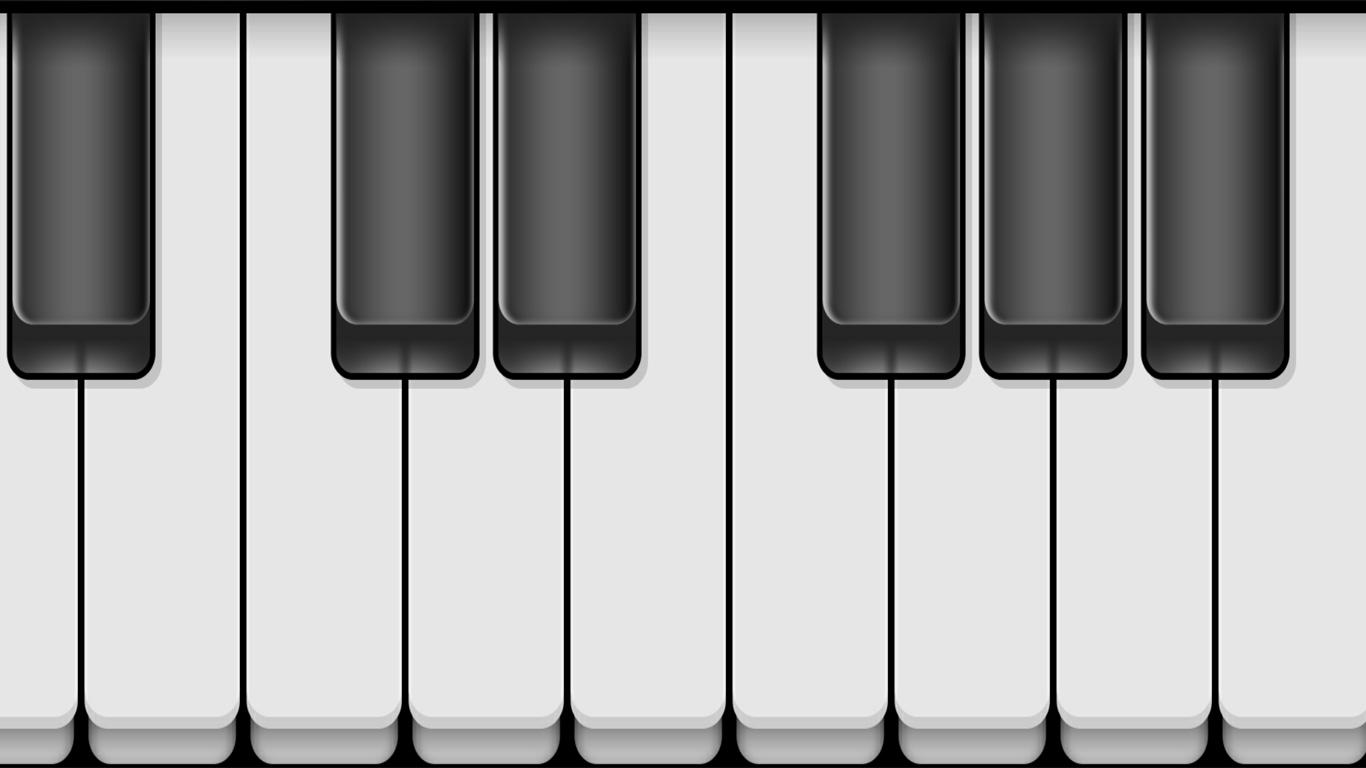 Piano virtuel azerty pour jouer du piano avec le clavier - Couper un morceau de musique en ligne ...