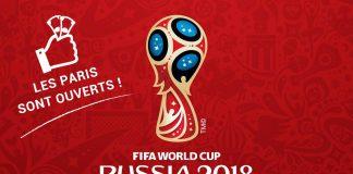 Parier sur la Coupe du monde de Foot 2018