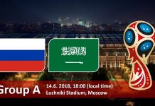 Russie / Arabie Saoudite en streaming