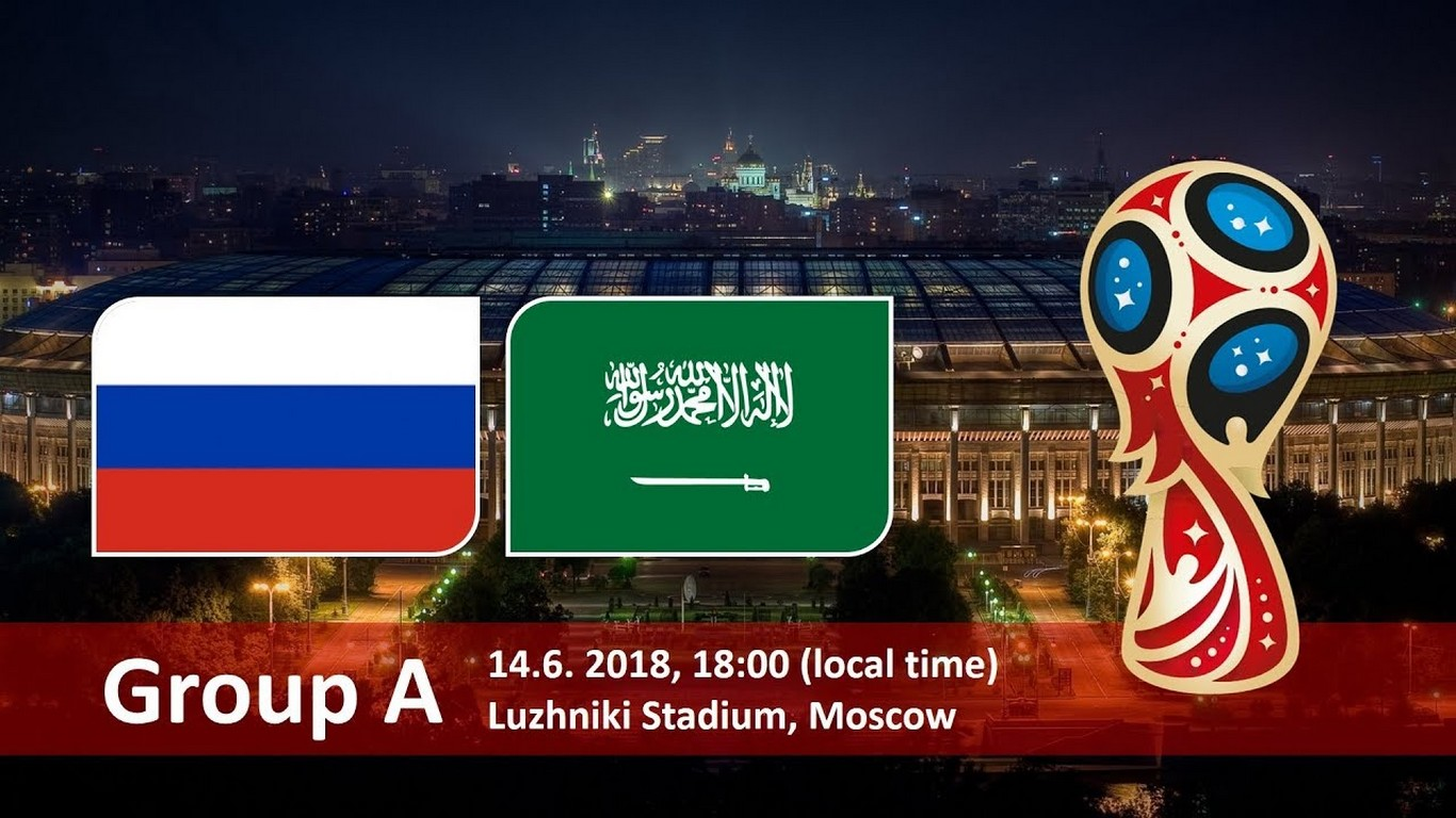 coupe du monde 2018 comment regarder russie arabie saoudite en direct. Black Bedroom Furniture Sets. Home Design Ideas