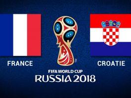 Finale France / Croatie en live streaming